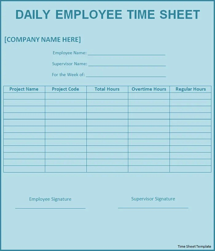 Employee Time Study Template. time log template 10 download documents ...