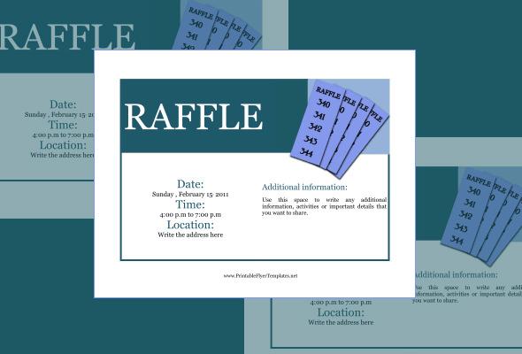 Free Raffle Ticket Templates. 40 Free Editable Raffle Amp Movie