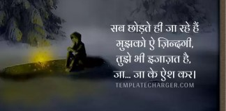 Alone Quotes in Hindi