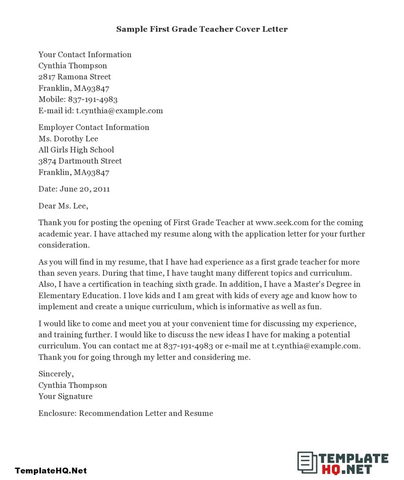Obtain Outstanding End Cover Letter Examples  You Should Try