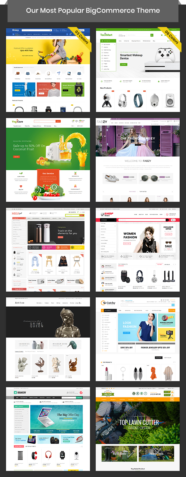 Firezy - Multipurpose Stencil BigCommerce Theme - 5
