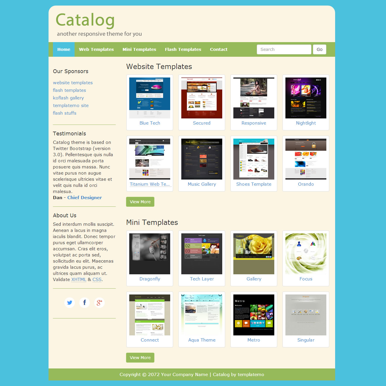 379 Catalog Template