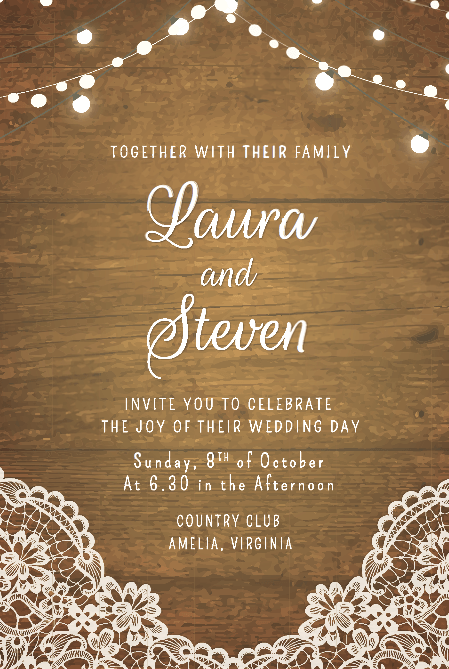 50 Fabulous Free Wedding Invitation Templates 2020