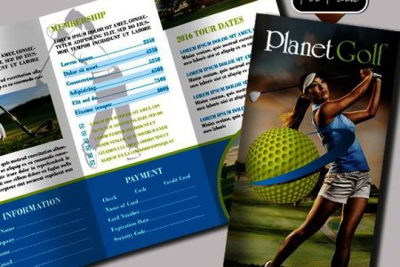 25 Best Free PSD Brochure Templates for Download in 2016   Templates Bigpreview golf club free psd tri fold psd brochure
