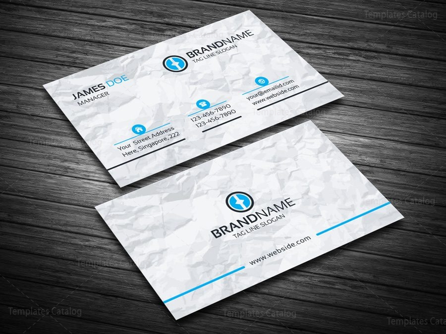 Eps Visiting Card Template 000089 Template Catalog