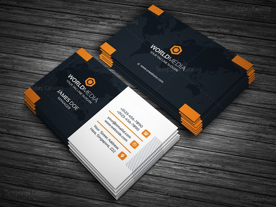 Business Card Template with World Map 000146 - Template Catalog on wedding maps, social media maps, wallpaper maps, business map maker, full page maps, business cards old world, envelope maps, tract maps,