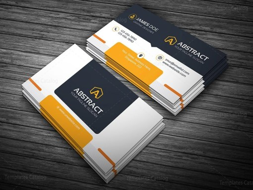 Corporate Business Card Template Bundle