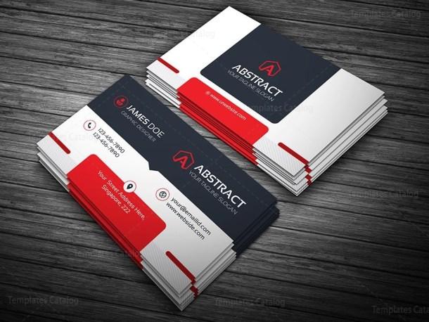 Corporate Business Card Template Bundle