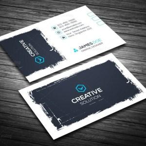 Creative Retro Business Card Template