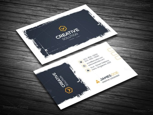 Creative Retro Business Card Template