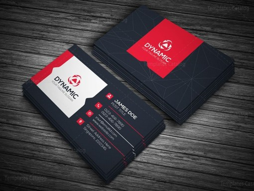 Dynamic Business Card Template