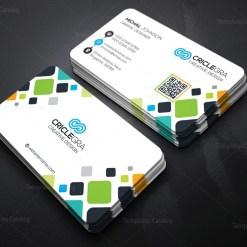 Mosaic Business Card Template