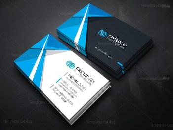 Sleek Corporate Business Card Template