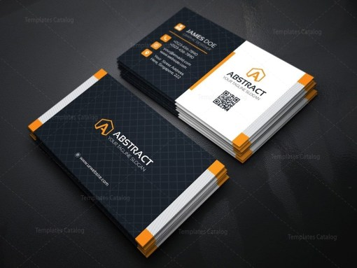 Stylish Business Card Design Template