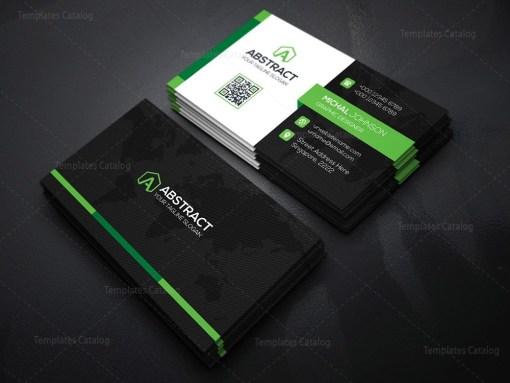 World Business Card Template