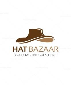 Hat Bazaar Logo Template