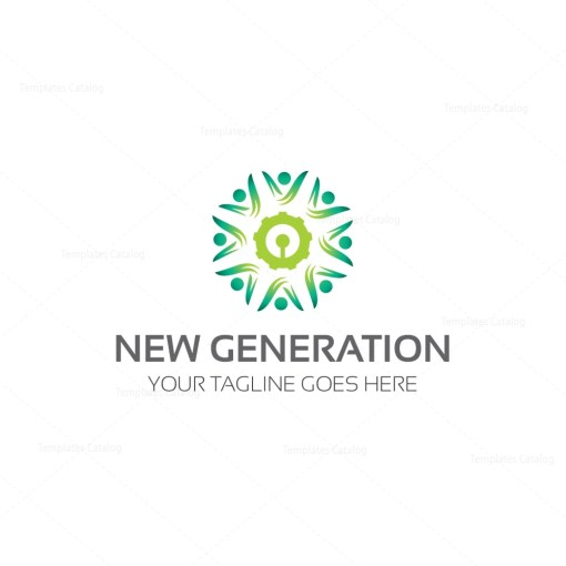 New Generation Logo Template