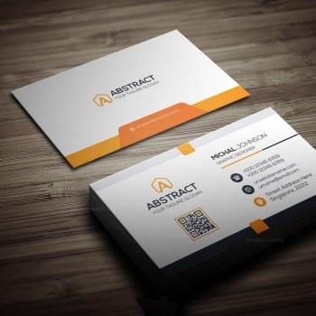 Clean Design Business Card Template