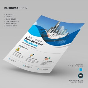 Photoshop Corporate Business Flyer