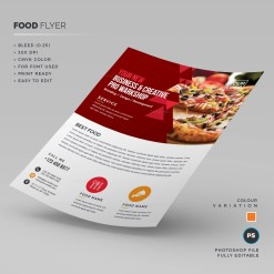 Pizza Store Flyer