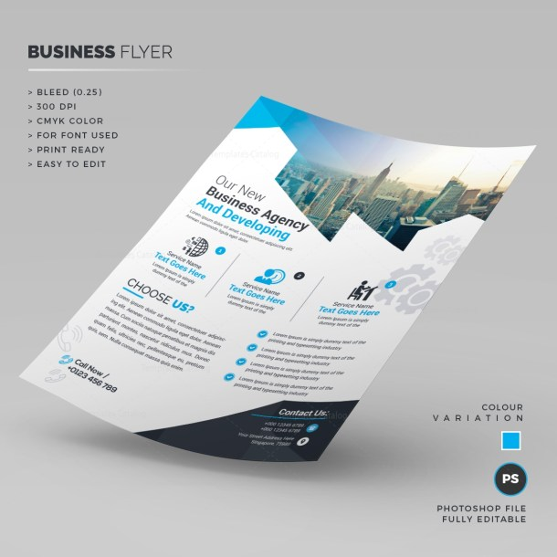 Stylish Corporate Flyer Template