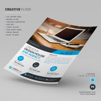 Stylish Creative Flyer Template