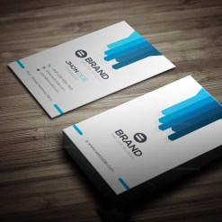 Brand Vertical Business Card