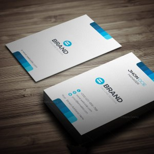 Horizontal Vertical Business Card Template