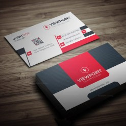 Market Business Card Template