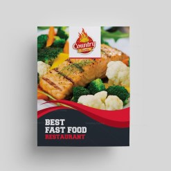 Steak House Restaurant Menu Template