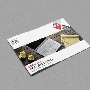 Bifold Elegant Landscape Brochure