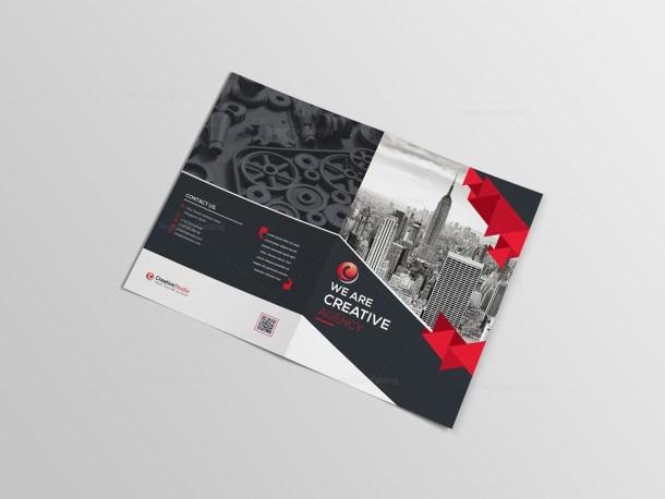 Classy Bifold Brochure Template