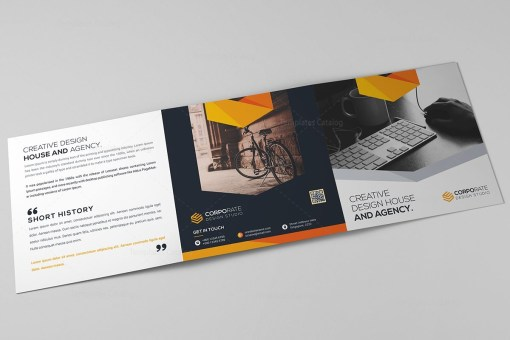 Classy Trifold Brochure Template