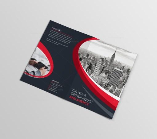 Elegant Bifold Brochure Template
