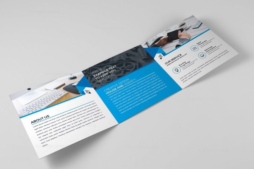 Elegant Trifold Brochure Template