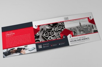 Elegant Trifold Brochure Template