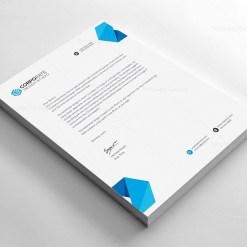 PSD Corporate Letterhead Template