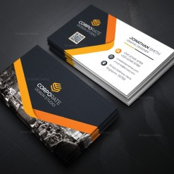 People Business Card Template