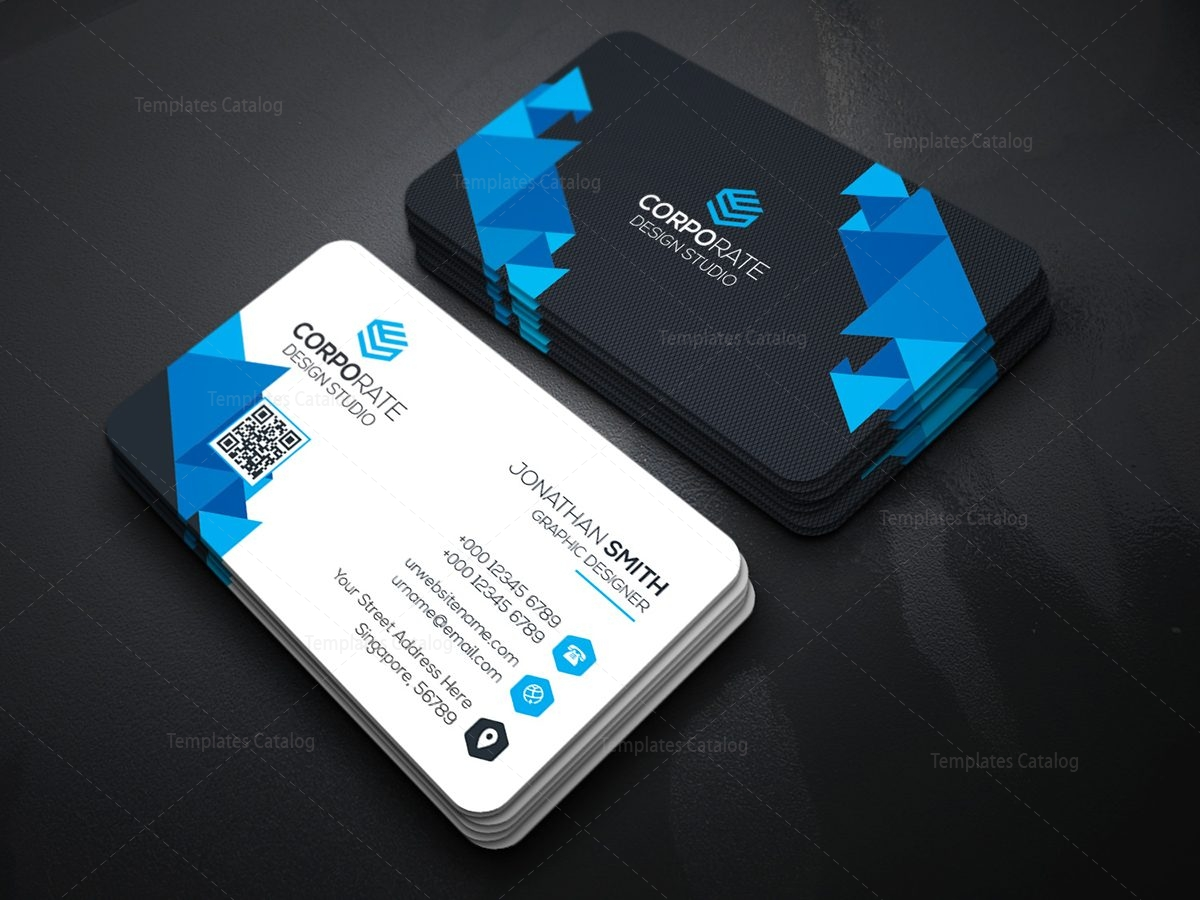 Admirable Professional Technology Business Card With Modern Design 000364 Template Catalog Interior Design Ideas Skatsoteloinfo