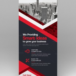 Roll up Banner Template