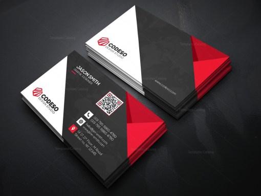 Technology Business Card Design