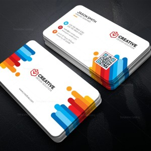 Bright Business Card Template
