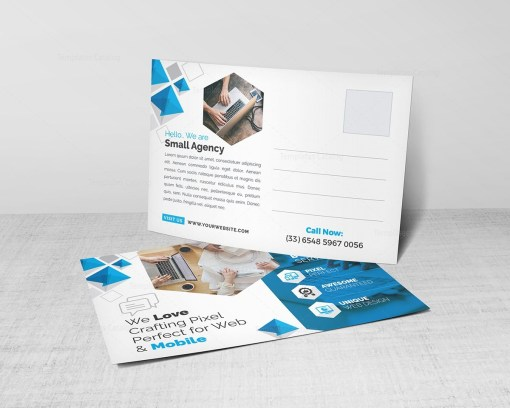Business Post Card Template