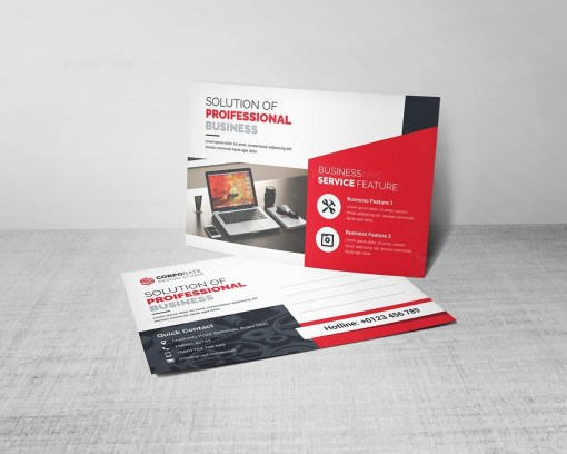 Business Postcard Template