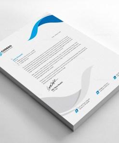Clear Letterhead Design Template