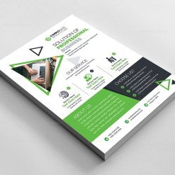 Elegant Business Corporate Flyer