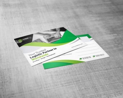 Elegant Post Card Template
