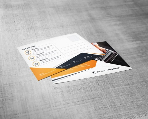 Elegant Postcard Template