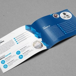 Fully Editable Landscape Brochure Template