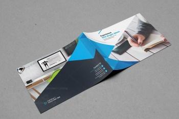 Modern Corporate Landscape Brochure Design
